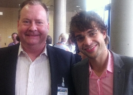 Ulf G Andersson, NanoMed North and Oliver Fontaine from ETPN